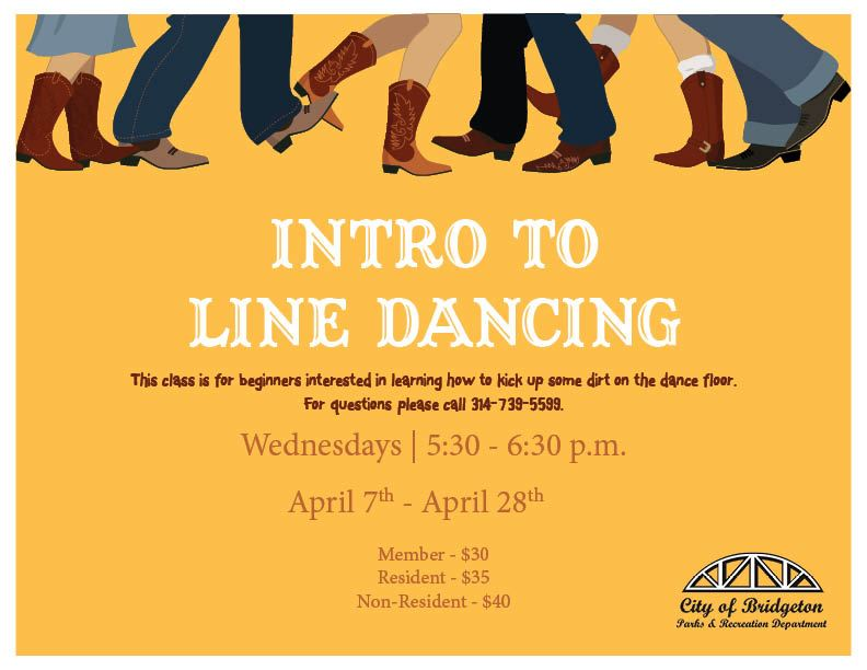 Intro to Line Dancing Spring 21